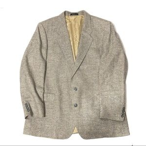 VTG Vittorio Lambswool Silk Blazer
